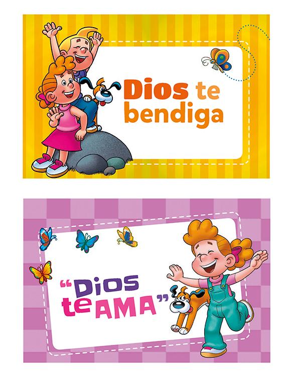 """Tarjeta """"Dios te ama"""""""