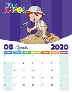 Calendario Agosto 2020