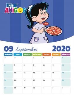 Calendario Septiembre 2020