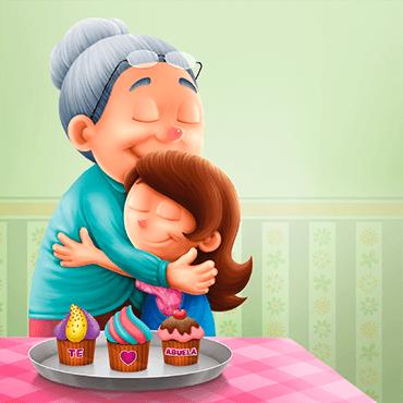 Abrazos y cupcakes
