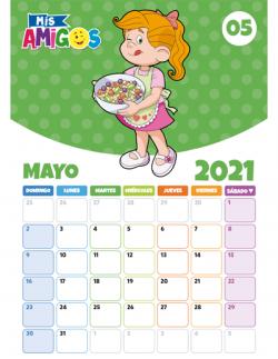 Calendario Mayo 2021