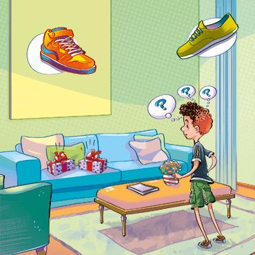 Dos zapatillas y una sorpresa