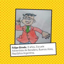 Felipe Girado, 8 años.