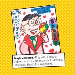 Nayla Zarratea, 4º grado.