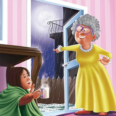 Una noche en la casa de la abuela